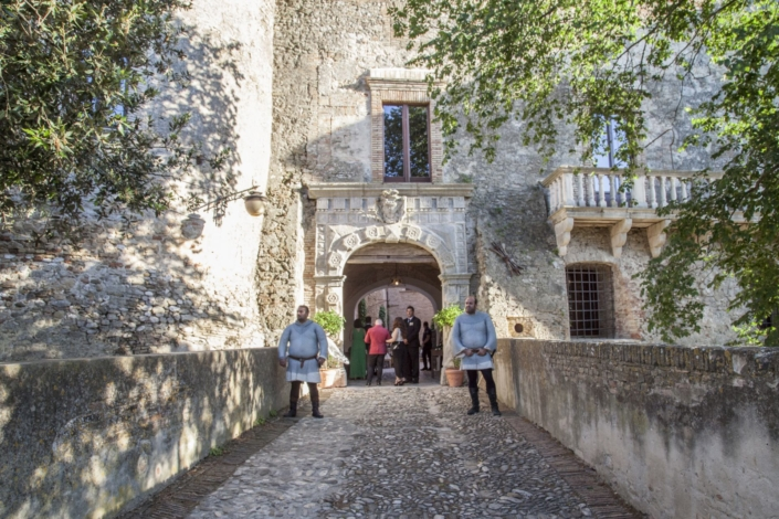ingresso castello maresca puglia