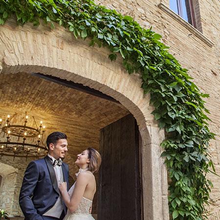 cortile castello maresca per ricevimenti e matrimoni